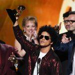 Bruno Mars arrasa en los Grammy y Jay-Z pasa de ser el más nominado a irse de vacío