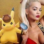 Rita Ora se une al reparto de Detective Pikachu con Ryan Reynolds como el famoso Pokémon