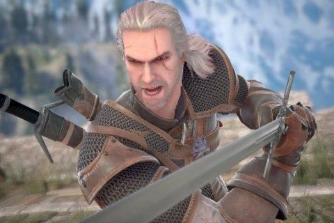 Geralt de Rivia, protagonista de la saga The Witcher, se une a Soul Calibur VI