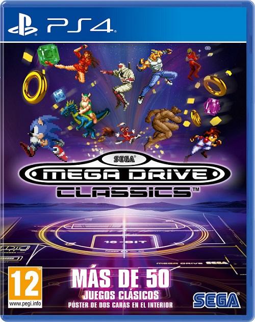 Anunciado Sega Mega Drive Classics Para Ps4 Y Xbox One Con Mas De