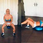 El vídeo de ejercicios de Britney Spears que se ha hecho viral