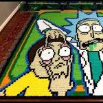 Alucina con estos 10 vídeos de personajes famosos realizados con piezas de dominó