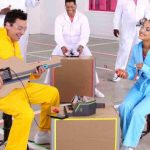 Ariana Grande y Jimmy Fallon cantan No Tears Left To Cry usando instrumentos con Nintendo Labo