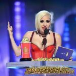 Lady Gaga recoge su premio en los MTV Movie & TV Awards 2018 por el documental sobre su vida