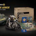 E3 2018: Mostrada la Edición Servoarmadura de Fallout 76, que incluye una réplica del casco y 24 figuras