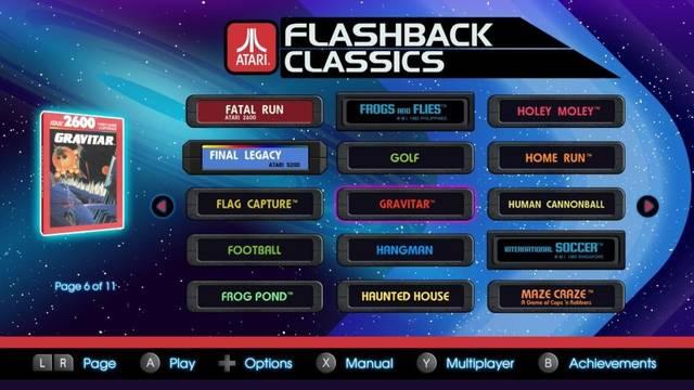 Anuncian El Recopilatorio Atari Flashback Classics Para Nintendo