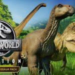 Descarga gratis los nuevos dinosaurios de Jurassic World Evolution