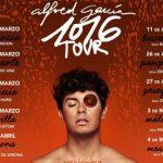 Alfred García anuncia su nueva gira con estos 20 conciertos