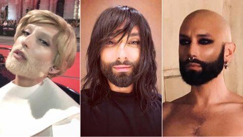 Conchita Wurst sufre un cambio de imagen radical en el videoclip de Hit Me