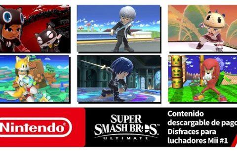 Hazte con estos disfraces para luchadores Miii en Super Smash Bros. Ultimate