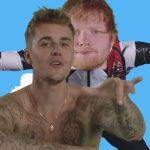 Ed Sheeran triunfa con su videoclip más raro acompañado de Justin Bieber