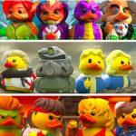Tus personajes favoritos convertidos en patos