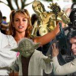 Este remix de I'm Slave 4 U mezcla Britney Spears y Star Wars