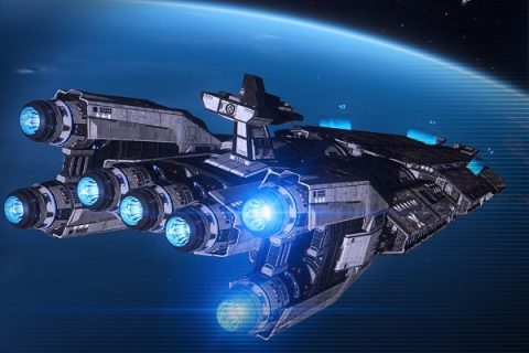 Los enormes Fleet Carrier se aproximan a Elite Dangerous