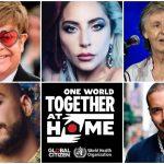 One World: Together At Home, un concierto de 8 horas con más de 100 artistas